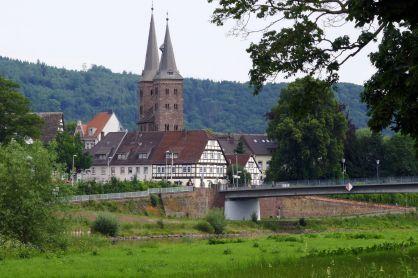 Kirche in Höxter im Weserbergland