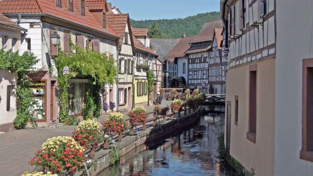 Fachwerk in der Pfalz